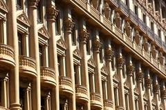 Architektur in Barcelona Stockfotografie
