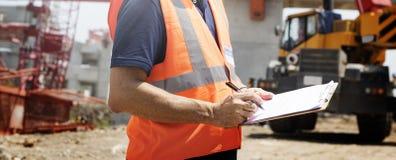 Architektur-Bau-Sicherheits-erstes Karriere-Konzept lizenzfreie stockfotos