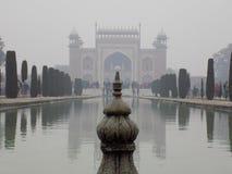 Architektur bei Taj Mahal stockfoto