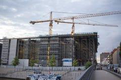 Architektur in Berlin. Stockfotografie