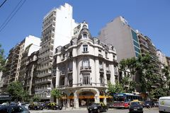 Architektur in Buenos Aires, Argentinien Stockbild