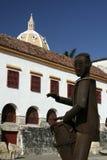 Architektur Cartagena-de Indias. Kolumbien Lizenzfreie Stockbilder