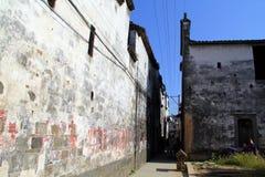 Architektur China-Huizhou Lizenzfreie Stockfotos