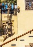 Architektur in der arabischen Art stockfotos