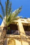 Architektur in der arabischen Art stockfotografie