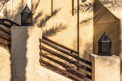 Architektur in der arabischen Art lizenzfreies stockbild