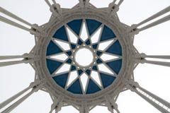 Architektur der Ausstellungs-Mitte in Moskau, Russland Lizenzfreie Stockbilder