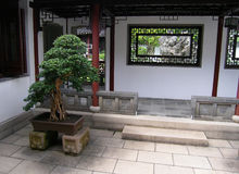Architektur der chinesischen Art Lizenzfreie Stockfotografie
