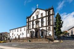 Architektur der Funchal-Stadt, Madeira-Insel, Portugal Lizenzfreies Stockbild