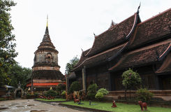 Architektur der Pagode in Chiangrai Stockfoto