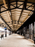 Architektur in der roosendaal Station lizenzfreie stockfotografie