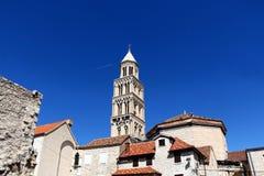 Architektur in der Spalte, Kroatien lizenzfreies stockfoto