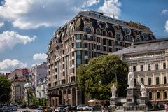 Architektur der Stadt stockfotos