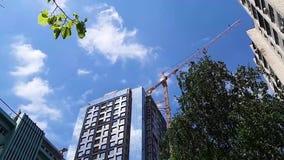 Architektur der Stadt Geb?ude stock video footage