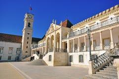 Architektur der Universität von Coimbra stockfotografie