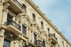 Architektur des Bakus Stockbild