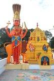 Architektur des hindischen Tempels in Bangalore, Indien lizenzfreies stockfoto