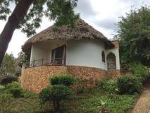 Architektur des Hotels in Sansibar Stockbilder