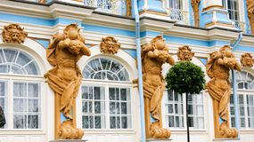 Architektur des königlichen Palastes stockfoto