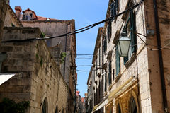 Architektur in Dubrovnik Lizenzfreies Stockbild