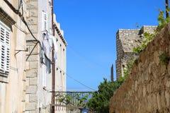 Architektur in Dubrovnik Stockbild