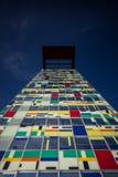 Architektur in Dusseldorf-Hafen lizenzfreie stockfotografie