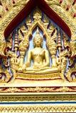 Architektur einer Buddha-Statue im thailändischen Malstil Lizenzfreie Stockbilder
