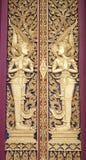 Architektur eines Charakters in der Literatur im thailändischen Malstil Stockfotografie