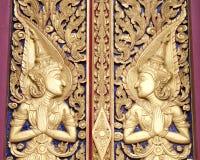 Architektur eines Charakters in der Literatur im thailändischen Malstil Lizenzfreies Stockbild