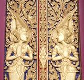Architektur eines Charakters in der Literatur im thailändischen Malstil Lizenzfreies Stockfoto
