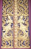 Architektur eines Charakters in der Literatur im thailändischen Malstil Stockfotos