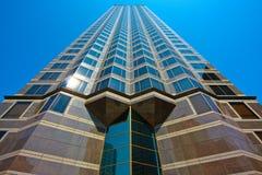 Architektur eines vertikalen Gebäudes Lizenzfreies Stockbild