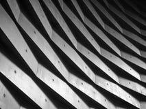 Architektur führt geometrischen abstrakten Hintergrund des Wandmusters einzeln auf stockfotos