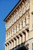 Architektur führt Triest einzeln auf Lizenzfreie Stockbilder