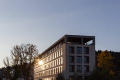 architektur fasady i budynków szczegóły w dziejowym mieście Zdjęcie Stock