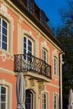 architektur fasady i budynków szczegóły w dziejowym mieście Obrazy Stock