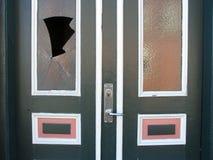 Architektur - gebrochenes Glas Lizenzfreies Stockbild