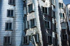 Architektur Gehry postmodernes Duesseldorf-Sonderkommando Lizenzfreies Stockfoto