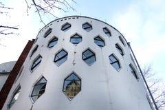 Architektur-Haus Bienenstock des Fotos interessanter stockbild