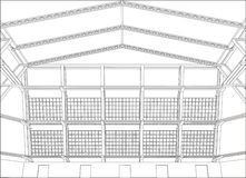 Architektur-Hintergrund Lizenzfreie Stockbilder