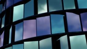 Architektur-Hintergrund der Zusammenfassungs-4K stock footage