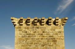 Architektur im Freien eines alten venetianischen Turms in Zypern Lizenzfreie Stockbilder