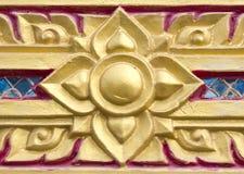 Architektur im thailändischen Malstil Stockbild
