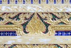 Architektur im thailändischen Malstil Stockfotografie