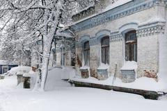 Architektur im Winter Lizenzfreie Stockbilder