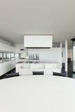 Architektur, Innenraum eines modernen Landhauses lizenzfreie stockfotos