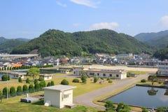 Architektur ist in Präfektur Hiroshima 2016 Stockfotografie