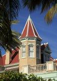 Architektur in Key West stockbild