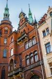 Architektur in Legnica polen lizenzfreies stockfoto