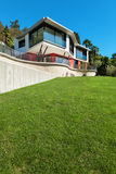 Architektur, modernes Landhaus Lizenzfreie Stockfotografie